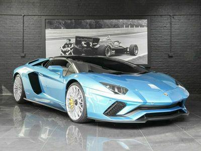 used Lamborghini Aventador 6.5 V12 LP 740-4 S Roadster ISR 4WD 2dr