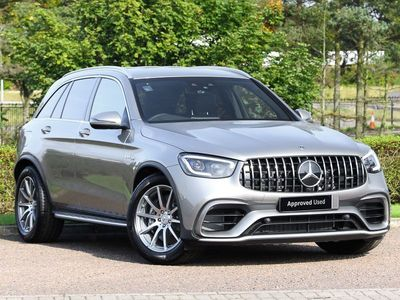 used Mercedes GLC63 AMG S 4Matic+ 5dr MCT 4.0