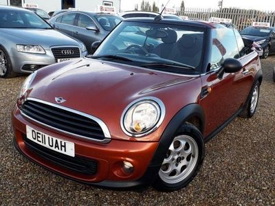 used Mini One Cabriolet 2011 MINI CONVERTIBLE 1.6 One Salt Convertible 2dr Petrol Manual 133 gkm