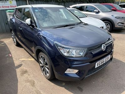used Ssangyong Tivoli 1.6 ELX 5dr Auto (Style Pack)