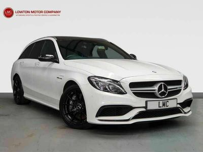 used Mercedes C63 AMG C-Class 4.0 AMGPREMIUM 5DR 469 BHP+GLASS SUNROOF+19s+MORE