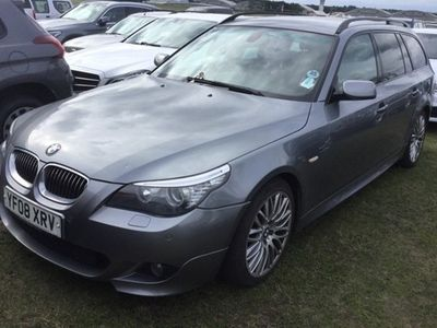 used BMW 525 5-Series Touring d M Sport 5d Auto (07)
