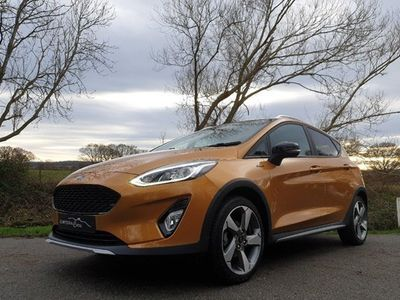 used Ford Fiesta Active X 1.0T EcoBoost 125PS 5d