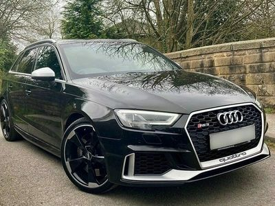 used Audi RS3  RS3 2.5 TFSIQuattro 5dr S Tronic FULL SERVICE HISTORY| ONE COMPANY OWNER|