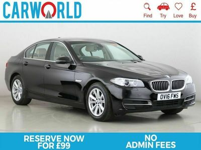used BMW 518 5 SERIES 2.0 D SE 4d 148 BHP