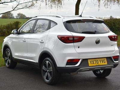 used MG ZS SUV Exclusive 1.0T GDI auto 5d