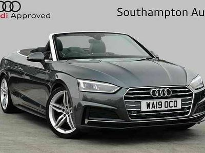 used Audi A5 Cabriolet S line 40 TFSI 190 PS S tronic