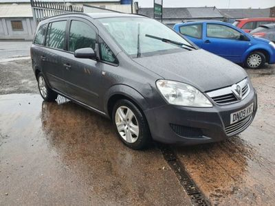 used Vauxhall Zafira 1.9 EXCLUSIV CDTI 5d 120 BHP