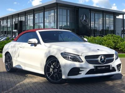 used Mercedes C300 C Class 2.0AMG Line (Premium) Cabriolet 2dr Petrol G-Tronic+ (s/s) (258 ps)