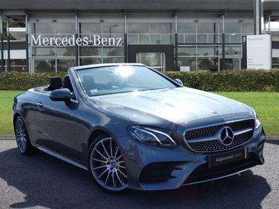 used Mercedes E220 E CLASSAMG Line Premium 2dr 9G-Tronic Automatic diesel cabriolet