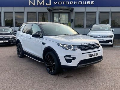 used Land Rover Discovery Sport 2.0 TD4 HSE Black Auto 4WD (s/s) 5dr 7 Seat