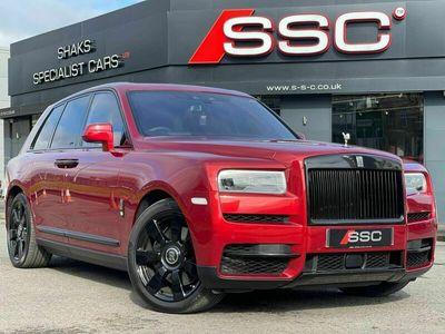 used Rolls Royce Cullinan 6.75 V12 Auto 4WD 5dr