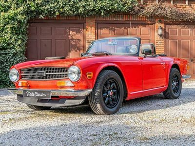 used Triumph TR6 For auction on Trade Classics.