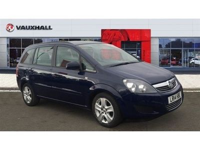 used Vauxhall Zafira 1.8i [120] Exclusiv 5dr