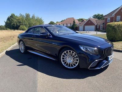 used Mercedes S65 AMG S Class 6.0V12 AMG S Cabriolet SpdS+7GT (s/s) 2dr
