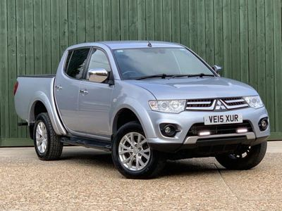 used Mitsubishi Challenger L200 2.5 DI-D CRDouble Cab Pickup 4WD 4dr, 2015, not known, 57226 miles.