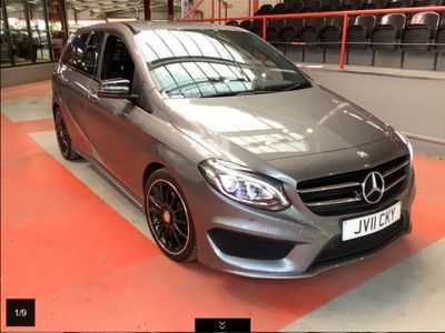 used Mercedes B180 B ClassD AMG Line Premium Night Edition SAT NAV/PARKTRONIC/CAMERA