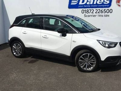 used Vauxhall Crossland X 1.2T ecoTec [110] Design Line 5dr [Start Stop]