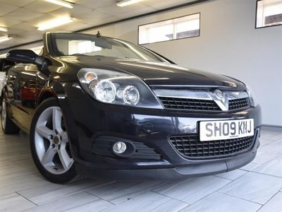 used Vauxhall Astra Cabriolet 1.8 TWIN TOP SPORT 3DR