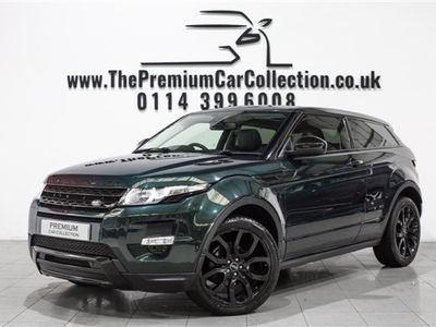 """used Land Rover Range Rover evoque SD4 DYNAMIC PAN ROOF BLACK PACK MERIDIAN 20"""""""""""