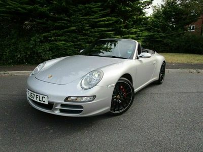 used Porsche 911 Carrera 4 Cabriolet 3.6 CARRERA 4 TIPTRONIC S 2d 321 BHP