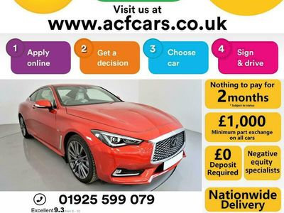 used Infiniti Q60 2.0T S Sport 2dr Auto Coupe 2018
