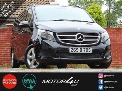 used Mercedes V250 V-Class 2.1D SE 5d 188 BHP 8 SEATS|360°CAM|COMAND|1OWNER|VAT Q
