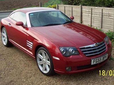 used Chrysler Crossfire 3.2 V6 2dr Auto