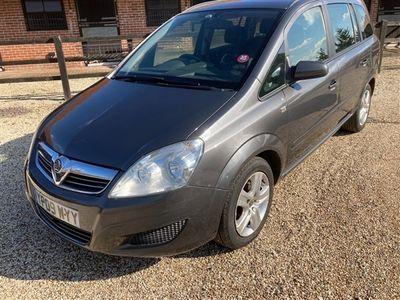 used Vauxhall Zafira 1.6i Exclusiv 5dr