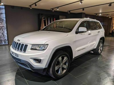 used Jeep Grand Cherokee 3.0 V6 CRD Limited Plus Auto 4WD (s/s) 5dr