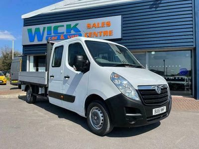 used Vauxhall Movano D/CAB F3500 L3H1 DROPSIDE *10FT BED*
