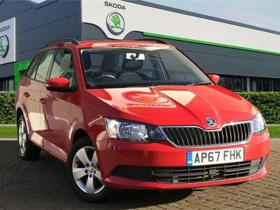 used Skoda Fabia 1.0 TSI SE (110PS) S/S DSG 5-Dr Estate 5dr