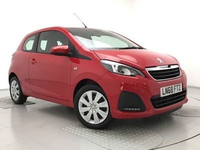 used Peugeot 108 1.0 72 Active 3dr