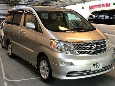 used Toyota Alphard 2.4 AX G Edition, Fresh Import, 8 Seater 5dr