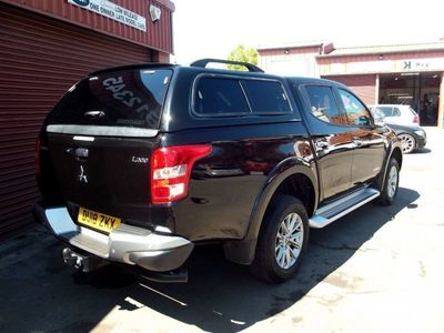 used Mitsubishi L200 Double Cab DI-D 178 Warrior 4WD Auto UPGRADED SPECIFICATION / PLUS VAT 4-Door