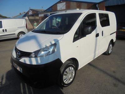 used Nissan NV200 1.5DCI ACENTA 5 SEAT CREW VAN 90BHP EURO5 2015, Van, 70000 miles.