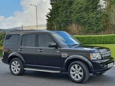 used Land Rover Discovery 3.0 4 SDV6 HSE 5d 255 BHP LEATHER + SAT NAV