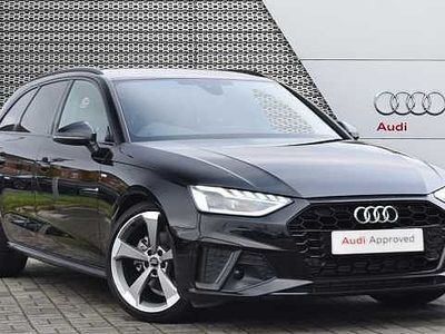 used Audi A4 Avant Black Edition 35 TFSI 150 PS S tronic