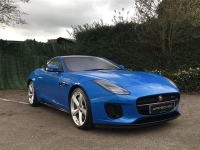 used Jaguar F-Type Coupe 2.0i GPF R-Dynamic Auto (s/s) 2dr
