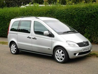 used Mercedes Vaneo 1.6 Ambiente WHEELCHAIR OR MOBILITY SCOOTER CONVERSION WITH 4 SEATS