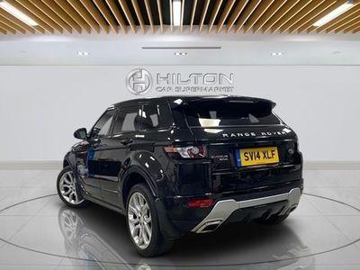 used Land Rover Range Rover evoque Estate 2.2 SD4 Dynamic (9speed) Hatchback 5d Auto