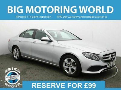 used Mercedes E220 E ClassSE for sale   Big Motoring World