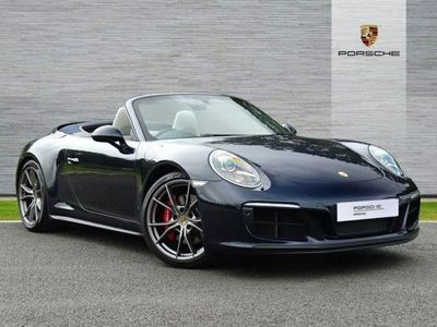 used Porsche 911 GTS 4 CABRIOLET PDK 3.0 2dr
