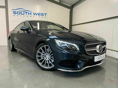 used Mercedes S500 S Class 4.7V8 AMG Line (Premium) G-Tronic (s/s) 2dr Coupe 2016