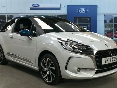 used DS Automobiles DS3 Cabriolet  1.6 THP Prestige 2dr Petrol 14 Day Money Back Guarantee