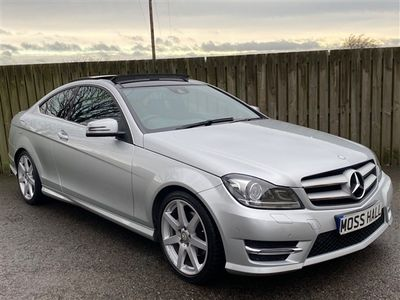 used Mercedes C250 C Class 2.1CDI AMG Sport Edition (Premium Plus) 7G-Tronic Plus 2dr