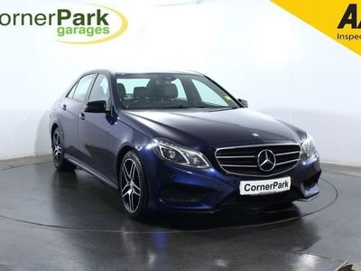 used Mercedes E220 E ClassBluetec Amg Night Edition Saloon 2015