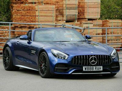 used Mercedes AMG GT 4.0 V8 BiTurbo GPF C Roadster SpdS DCT (s/s) 2dr