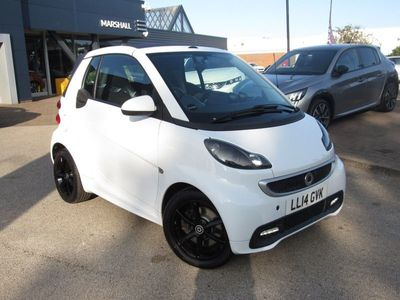used Smart ForTwo Cabrio Grandstyle 2dr Softouch Auto 84 1.0