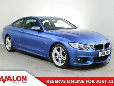 used BMW 428 4 Series 2.0 i M Sport Coupe 2d Auto